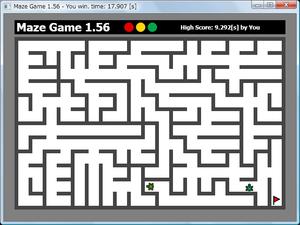 図104 迷路ゲーム 1.56