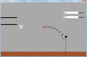 図119 バスケットボール