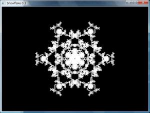 図136 雪の結晶