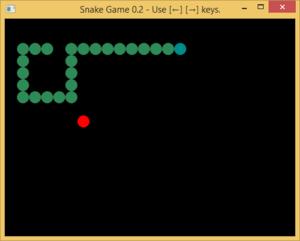 図141 ヘビゲーム