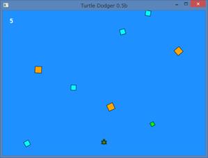 図142 垂直スクロールゲーム
